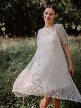 Платье женское ручной работы - фото 8158