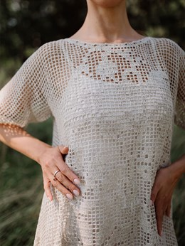 Платье женское ручной работы - фото 8161