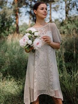 Платье женское ручной работы