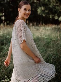 Платье женское ручной работы - фото 8163